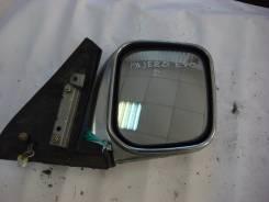 Зеркало заднего вида боковое. Mitsubishi Pajero Evolution, V55W