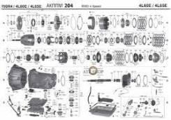Автоматическая коробка переключения передач. Pontiac Firebird