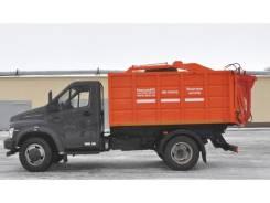 Рарз. Мусоровоз с задней загрузкой МК-1540-14 на шасси ГАЗ Next, 4 430куб. см.
