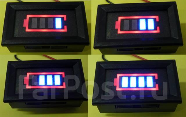 Индикатор напряжения аккумулятора купить владивосток