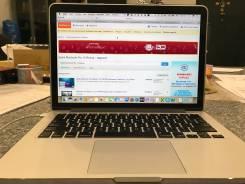 "Apple MacBook Pro 13 2013 Late. 13"", 2,8ГГц, ОЗУ 8192 МБ и больше, диск 512 Гб, WiFi, аккумулятор на 9 ч."