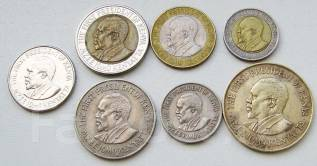 Кения. Подбор монет без повторов