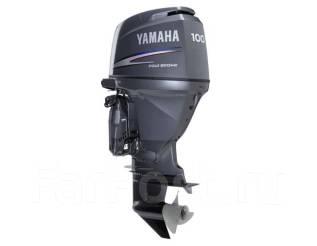 Yamaha. 100,00л.с., 4х тактный, бензин, нога L (508 мм), Год: 2011 год