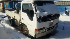Isuzu Elf. грузовик с крановой установкой, 4 334 куб. см., 2 000 кг.