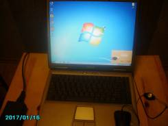 """Dell Inspiron. 15.4"""", 2,8ГГц, ОЗУ 512 Мб, диск 40 Гб, WiFi, аккумулятор на 2 ч."""
