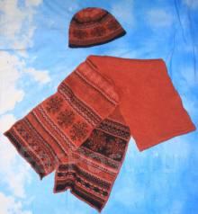 Шапка и шарф. 55