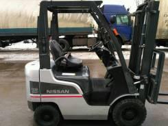 Nissan. Вилочный погрузчик F1F1A15 дизель 1,5т., 2 510 куб. см., 1 500 кг.
