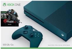 Игровая приставка Microsoft Xbox One S 500 ГБ + Gears of War 4 Special