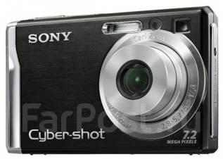 Sony Cyber-shot DSC-W80. 7 - 7.9 Мп, зум: 3х