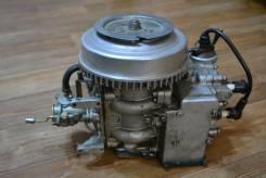 Ветерок. 8,00л.с., 2х тактный, бензин, нога S (381 мм), Год: 1990 год