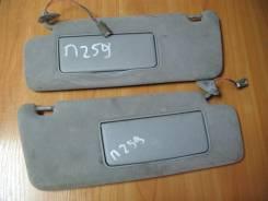Козырек солнцезащитный, левый, с подсветкой, зеркало, Toyota Camry Grazia, SXV20, 5S-FE.