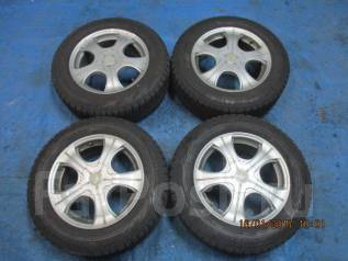 Диски Weds Joker с шинами Bridgestone 215/60R16 зима. 7.0x16 5x100.00, 5x114.30 ET48