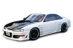 Обвес кузова аэродинамический. Nissan Silvia, CS14, S14 Nissan Sports Двигатели: SR20DET, SR20DE. Под заказ