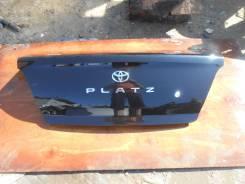 Крышка багажника. Toyota Platz, NCP16, NCP12 Двигатели: 1NZFE, 2NZFE