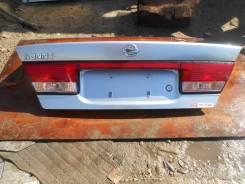 Крышка багажника. Nissan Sunny, FB15, B15 Двигатель QG15DE