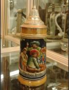 Кружка пивная, немецкая, коллекционная. 50-60-е года. Оригинал
