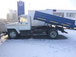 ГАЗ 35071. Газ-саз-35071 самосвал с 3-ех сторонней разгрузкой, 4 750 куб. см., 4 250 кг.