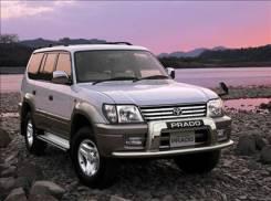 Toyota Land Cruiser Prado. 7.0x16, 6x139.70, ET15, ЦО 106,1мм. Под заказ
