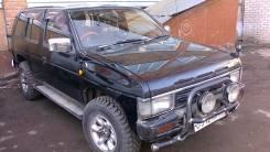 Стекло боковое. Nissan Terrano, LBYD21