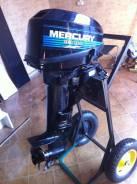 Mercury. 10,00л.с., 2х тактный, бензин, нога S (381 мм), Год: 1996 год