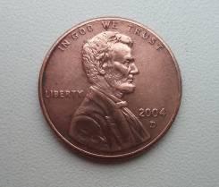 "США, 1 цент 2004 год - монетного двор: ""D"" - Денвер"