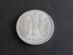 1 марка 1966 года. Финляндия. Отличная. Серебро.