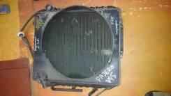 Радиатор охлаждения двигателя. Mitsubishi Pajero, V45W