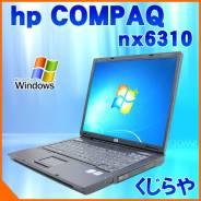 """Compaq nx6310. 15"""", 1,6ГГц, ОЗУ 2048 Мб, диск 60 Гб, WiFi"""