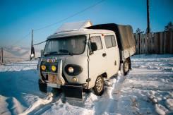 УАЗ 39094 Фермер. Продаётся УАЗ Фермер в Улан-Удэ, 2 700 куб. см., 1 250 кг.