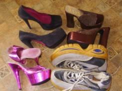 4 пары обуви. 35, 36, 37