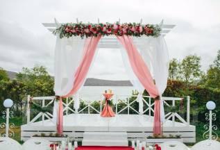 Ваша красивая свадьба в Белом Лебеде на о. Русский