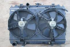 Радиатор охлаждения двигателя. Nissan Avenir, PNW11 Двигатель SR20DE