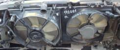 Радиатор охлаждения двигателя. Toyota Caldina, ST210 Двигатель 3SFE 3SGE