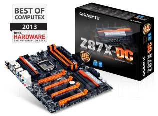 MB Gigabyte GA-Z87X-OC, CPU i7 4770K/3.50 RAM G. Skill Ripjaw 2133 24Gb