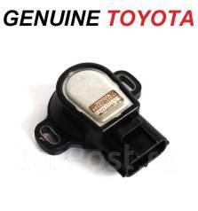 Датчик положения дроссельной заслонки. Toyota: Cynos, Century, RAV4, Granvia, Sprinter Trueno, Dyna, Lite Ace, Toyoace, Corona, Crown, Regius, Corolla...