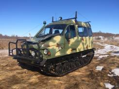 ГАЗ. Продаётся гусеничный снегоболотоход -3409 Бобр, 1 800 куб. см., 1 000 кг.