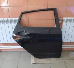 Дверь задняя правая оригинальная Hyundai Solaris хетчбэк (цвет Чёрный)