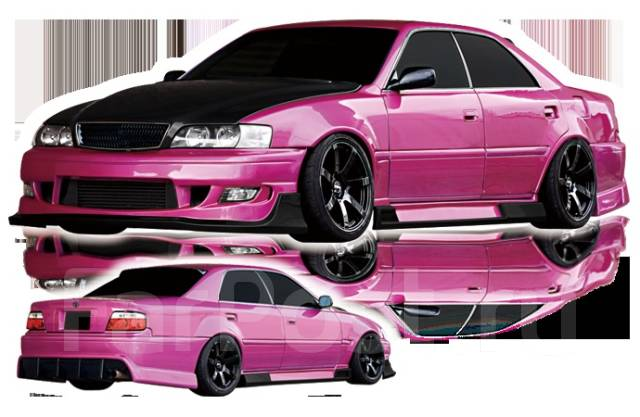 Обвес кузова аэродинамический. Toyota Chaser, GX100, JZX100, SX100, LX100 Toyota Origin Двигатели: 1GFE, 1JZGTE, 4SFE, 2LTE, 1JZGE