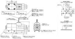 Соленоид (э/м клапан) подъема стрелы 30202750 Aichi (Аичи) SH140. Aichi SH140. Под заказ