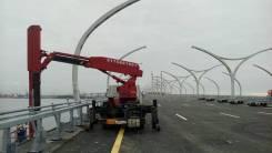 Автовышка для мостов и эстакад Tadano в Москве. С водителем