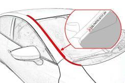 Водосток лобового стекла Subaru XV 2012-