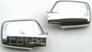 Накладка на зеркало. Nissan X-Trail, DNT31, NT31, T31, TNT31 Двигатели: M9R, MR20DE, QR25DE. Под заказ