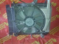Радиатор охлаждения двигателя. Toyota Ractis, NCP100, SCP100, NCP105 Двигатель 2SZFE