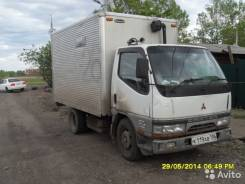 Mitsubishi Canter. Продаю грузовик фургон Mitsubish iCanter 1996 г. в., 4 200 куб. см., 2 000 кг.