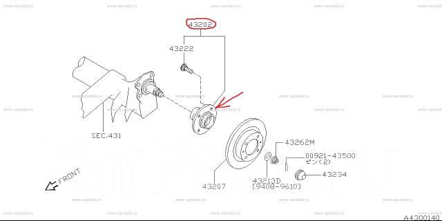 Ступица. Nissan Maxima, J30, A32 Nissan Cefiro, WPA32, PA32, HA32, WA32, WHA32, A32 Двигатели: VQ30DE, VG30E, VQ20DE, VQ25DE