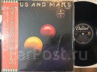 Битлы! Уингз / Wings - Venus and Mars - JP LP 1975 Пол Мак Картни