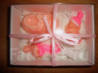 Подарочный наборчик на рождение малыша Мыло ручной работы