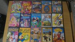 Детские мультфильмы DVD - одним лотом 15 шт. С рубля.