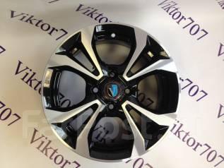 Новые литые диски Venti R15 4-100 НЕ Китай! Шиномонтаж 1504. 6.0x15, 4x100.00, ET46, ЦО 67,1мм.