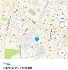Гаражи кооперативные. улица Ворошилова 13, р-н Индустриальный, электричество, подвал.